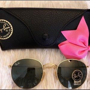 Rayban round metal classic sunglasses